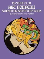 Art Nouveau Stained Glass Pattern Book (2006)