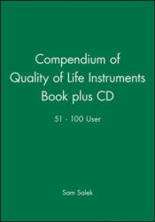Compendium of Quality of Life Instruments - Sam Salek (ISBN: 9780471988441)