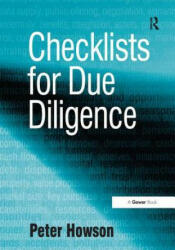 Checklists for Due Diligence - Peter Howson (2008)