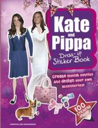 Kate and Pippa Middleton Dress-Up Sticker Book (2012)