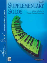 Supplementary Solos: Level 2 - Alfred Publishing (ISBN: 9780874871067)