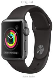 Original: Apple Watch Series 3 (GPS, 38mm) - Space Gray Aluminum Case with Black Sport Band- -Guide (ISBN: 9798713893934)