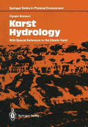Karst Hydrology - With Special Reference to the Dinaric Karst (2012)