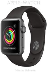 Apple-Watch: Series 3 (GPS, 42mm) - Silver Aluminum Case with White Sport Band (ISBN: 9798709727762)