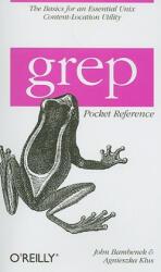 grep Pocket Reference (ISBN: 9780596153601)