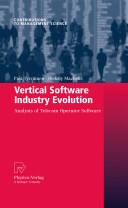 Vertical Software Industry Evolution: Analysis of Telecom Operator Software - Analysis of Telecom Operator Software (2009)