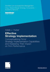 Effective Strategy Implementation - Conceptualizing Firms' Strategy Implementation Capabilities and Assessing Their Impact on Firm Performance (2011)