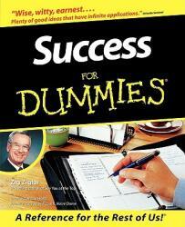 Success for Dummies (ISBN: 9780764550614)