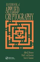 Handbook of Applied Cryptography (2010)