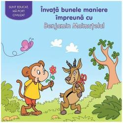 Invata bunele maniere impreuna cu Benjamin Maimutelul (ISBN: 9786067610031)
