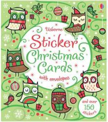 Sticker Christmas cards (2012)