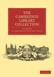 Cambridge Library Collection 475 Set (2012)