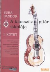 A klasszikus gitár iskolája I (ISBN: 9790801659200)
