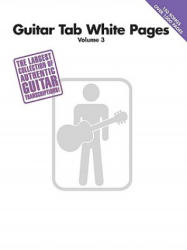 Guitar Tab White Pages Volume 3 (2009)