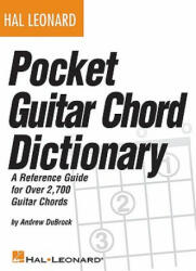 Pocket Guitar Chord Dictionary - Andrew DuBrock (2002)