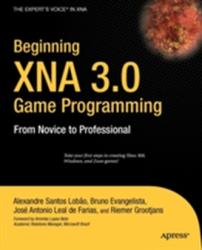 Beginning XNA 3.0 Game Programming - From Novice to Professional (2004)