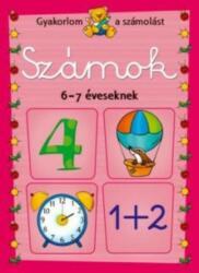 SZÁMOK 6-7 ÉVESEKNEK (2012)