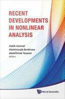 Recent Developments in Nonlinear Analysis (ISBN: 9789814295567)