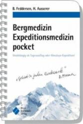 Bergmedizin Expeditionsmedizin pocket - Berend Feddersen, Harald Ausserer, Andreas Ruß (2016)
