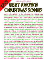 120 Best Known Christmas Songs: Piano/Vocal/Guitar (2008)
