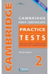 Cambridge First Certificate Practice Tests 2 - For the First Certificate in English Examination (ISBN: 9789604034451)