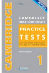 CAMBRIDGE FC PRACTICE TESTS 1REVIDED ED STUDENT BOOK - Nicholas Stephens (ISBN: 9789604032815)