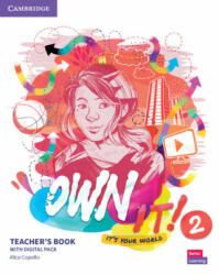 Own it! Level 2 Teacher's Book with Digital Resource Pack - Alice Copello (2020)