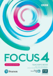 Focus 4 Teacher's Book with Pearson Practice English App (2nd) - Sue Kay (2019)