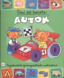 Süni és barátai - Autók (ISBN: 9786155176968)