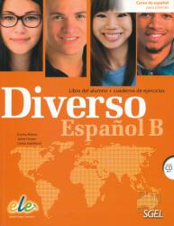 Diverso B : libro del alumno y cuaderno de ejercicios - Alonso Encina, Corpas Jaime (2016)