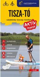 Tisza-tó aktív térkép 1: 50 000 (2021)