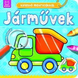 ANNA PODGÓRSKA - JÁRMŰVEK - KIFESTÕ MATRICÁKKAL (ISBN: 9786155634864)