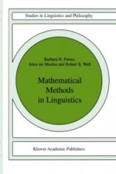 Mathematical Methods in Linguistics (ISBN: 9789027722447)