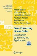 Error-correcting Linear Codes (2010)