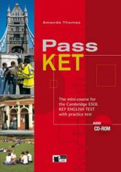 PASS KET TEACHER'S BOOK + AUDIO CD - A. Thomas (ISBN: 9788877549211)
