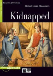 Black Cat KIDNAPPED + CD ( Reading a Training Level 2) - Robert Louis Stevenson, Retold by Nancy Timmins, Activities by Frederick Garland (ISBN: 9788853005441)