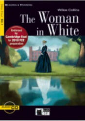 Black Cat WOMAN IN WHITE + CD ( Reading a Training Level 4) - Wilkie Collins, Adapted by Christopher Hall, Activities by Frederick Garland (ISBN: 9788853004833)