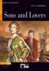 Black Cat SONS AND LOVERS + CD ( Reading a Training Level 5) - D. H. Lawrence, Retold by Blanche Malvern, Activities by Kenneth Brodey (ISBN: 9788853001702)