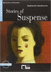 Black Cat STORIES OF SUSPENSE + CD ( Reading a Training Level 3) - Nathaniel Hawthorne, Retold by Gina D. B. Clemen, Activities by Matt Renzi (ISBN: 9788853001603)