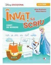 Disney Educațional. Învăț să scriu. Caiet de scriere. Clasa I (ISBN: 9786063316050)