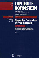 Inorganic Radicals Metal Complexes and Nonconjugated Carbon Centered Radicals (ISBN: 9783540484653)