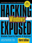 Hacking Exposed Windows - Microsoft Windows Security Secrets and Solutions (2001)