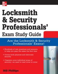 Locksmith and Security Professionals' Exam Study Guide (2001)