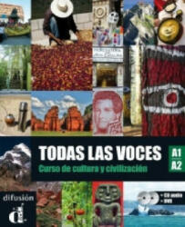 Todas las voces A1/A2, Lehrbuch m. Audio-CD u. DVD - César Chamorro, Matilde Martínez, Nuria Murillo, Alejandro Sáenz (2012)
