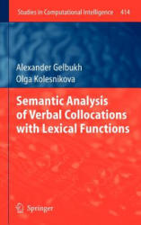 Semantic Analysis of Verbal Collocations with Lexical Functions (2012)
