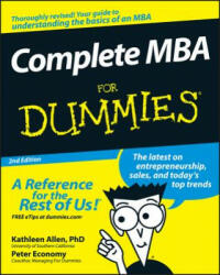 Complete MBA For Dummies (ISBN: 9780470194294)