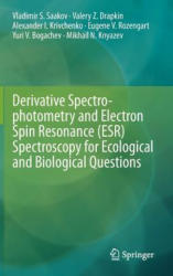 Derivative Spectrophotometry and Electron Spin Resonance (ESR) Spectroscopy for Ecological and Biological Questions (2012)