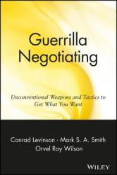 Guerrilla Negotiation (ISBN: 9780471330219)