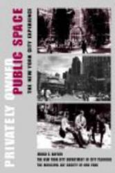 Privately Owned Public Space - The New York City Experience (ISBN: 9780471362579)