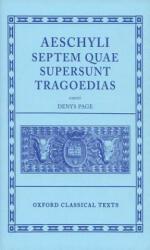 Aeschylus Tragoediae (1973)